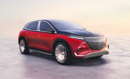 2021 Mercedes-Maybach EQS Concept Wallpapers HD
