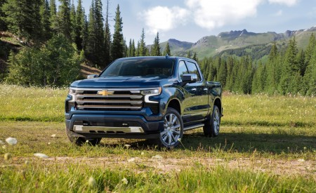 2022 Chevrolet Silverado High Country Wallpapers HD