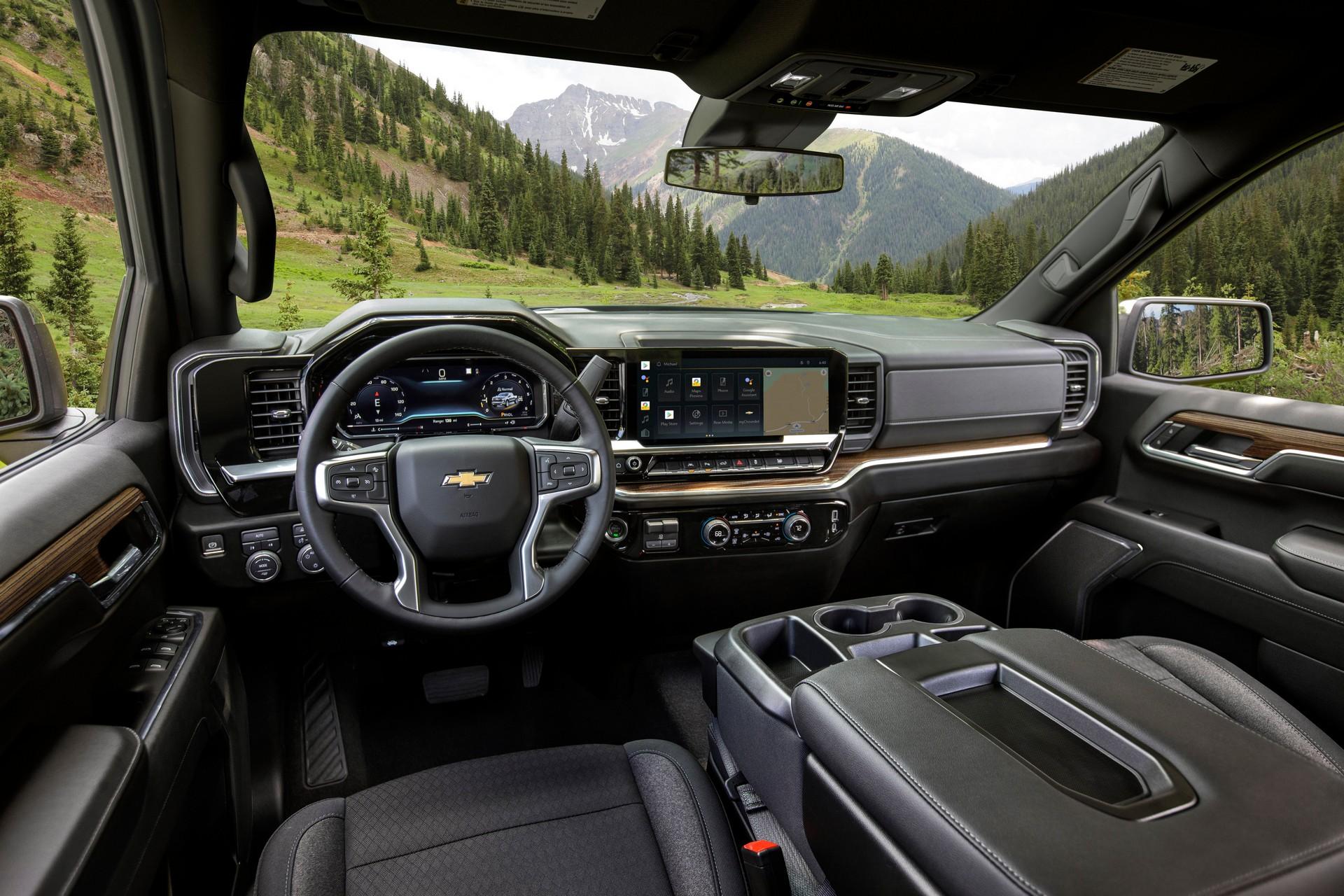 2022 Chevrolet Silverado LT Interior Cockpit Wallpapers (3)