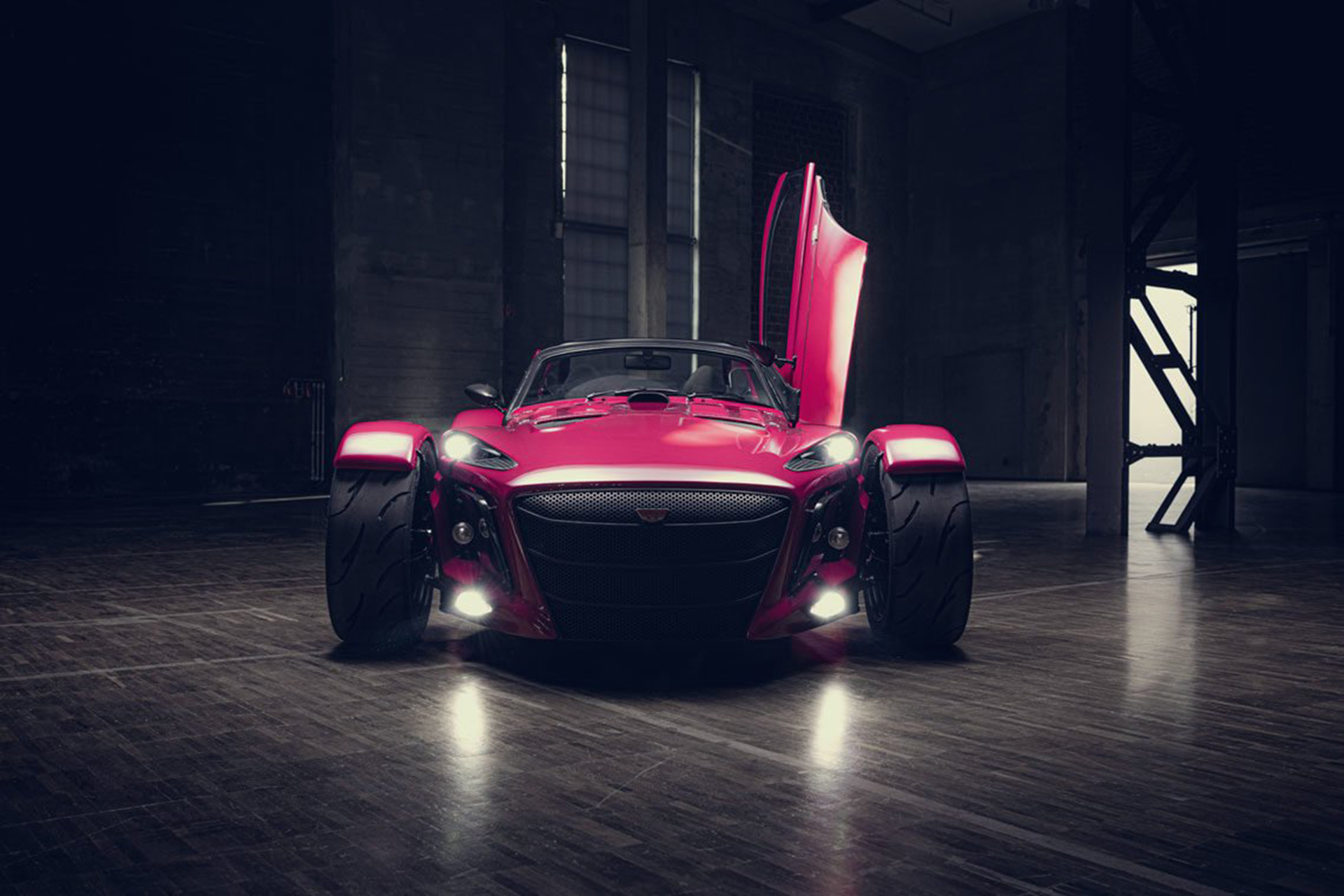 2022 Donkervoort D8 GTO Individual Series Front Wallpapers (6)