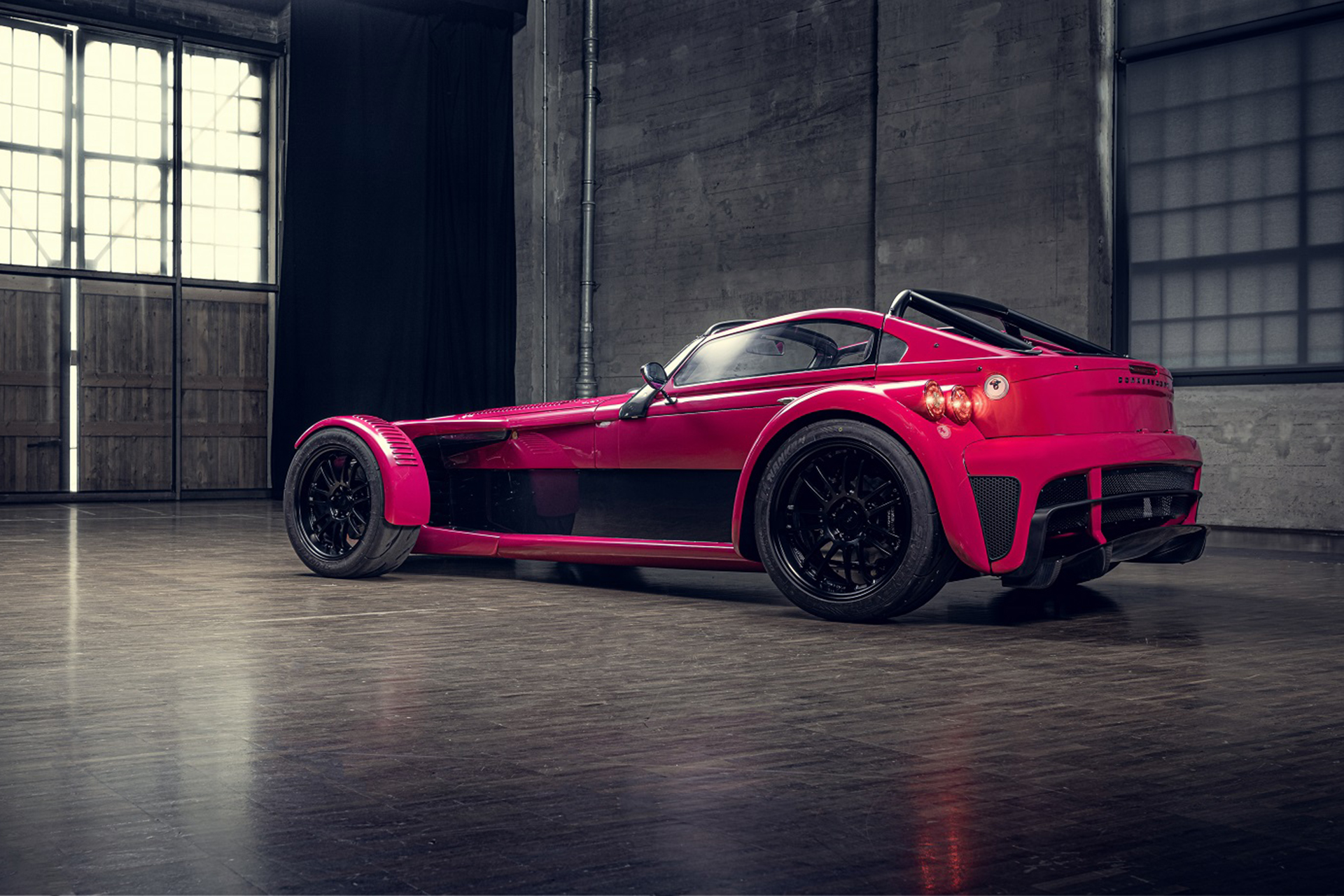 2022 Donkervoort D8 GTO Individual Series Rear Three-Quarter Wallpapers (7)