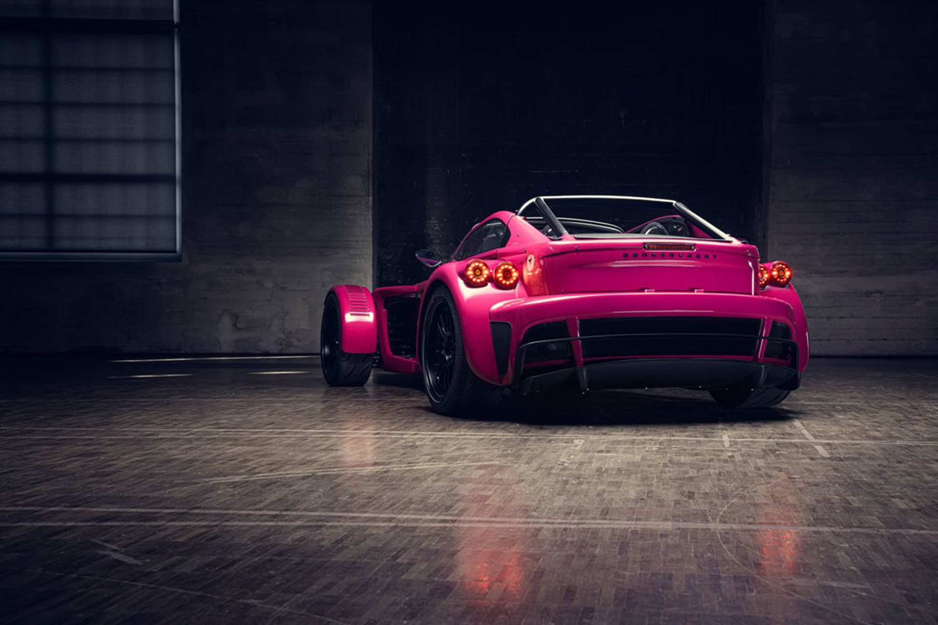 2022 Donkervoort D8 GTO Individual Series Rear Wallpapers (10)