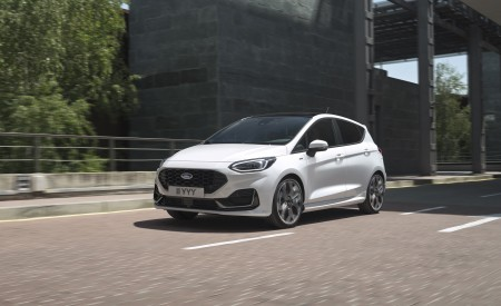 2022 Ford Fiesta ST Line Wallpapers HD