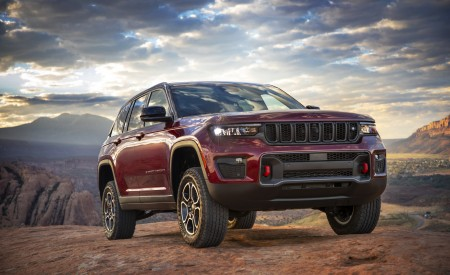 2022 Jeep Grand Cherokee Trailhawk Wallpapers HD