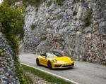 2022 Porsche 911 Carrera GTS Cabriolet (Color: Racing Yellow) Front Three-Quarter Wallpapers 150x120 (7)