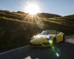 2022 Porsche 911 Carrera GTS Cabriolet (Color: Racing Yellow) Front Three-Quarter Wallpapers 150x120 (3)