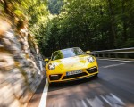 2022 Porsche 911 Carrera GTS Cabriolet (Color: Racing Yellow) Front Wallpapers 150x120 (4)