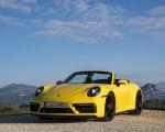 2022 Porsche 911 Carrera GTS Cabriolet (Color: Racing Yellow) Front Wallpapers 150x120 (8)