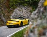 2022 Porsche 911 Carrera GTS Cabriolet (Color: Racing Yellow) Rear Three-Quarter Wallpapers 150x120 (9)
