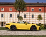 2022 Porsche 911 Carrera GTS Cabriolet (Color: Racing Yellow) Side Wallpapers 150x120 (11)