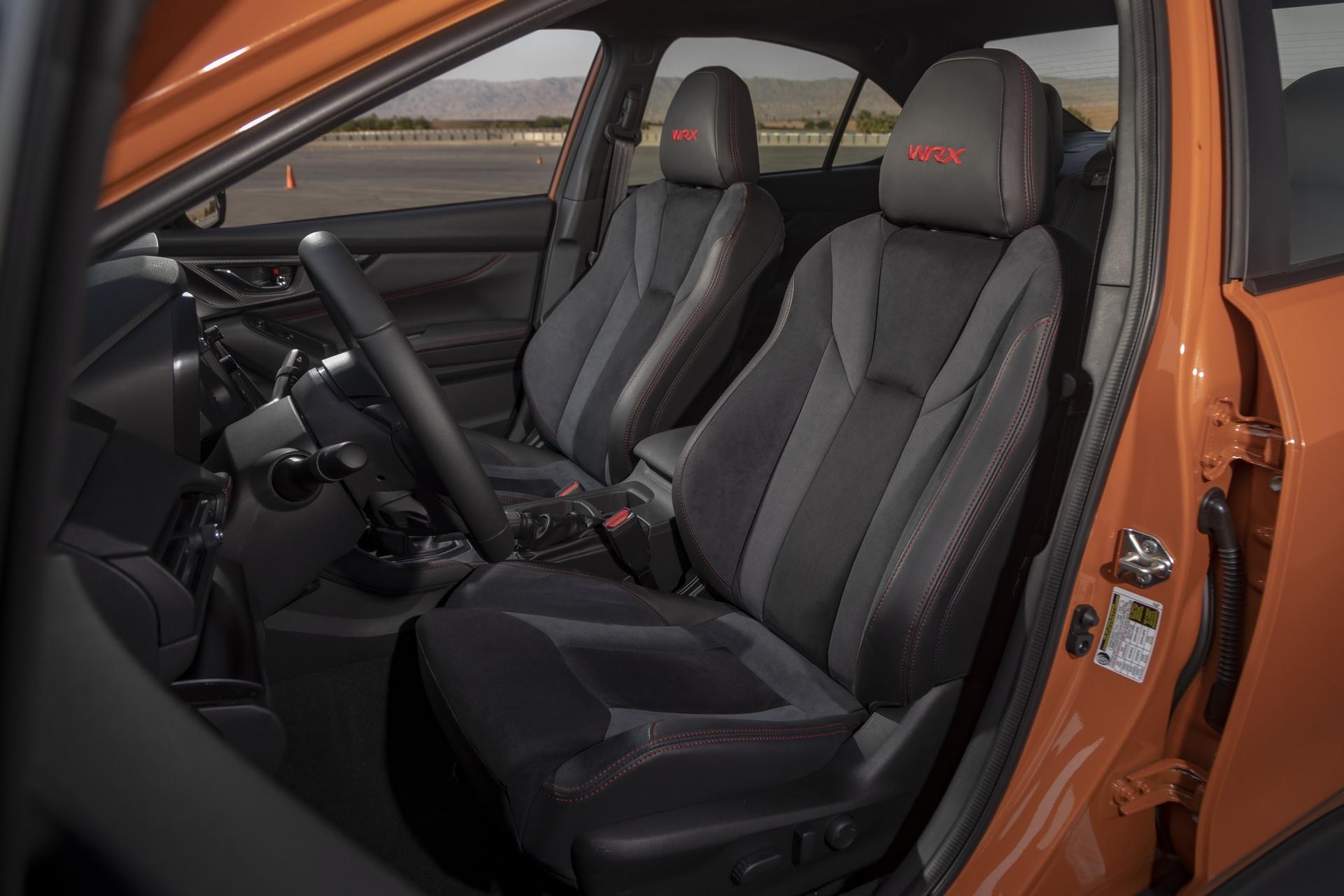 2022 Subaru WRX Interior Front Seats Wallpapers #25 of 61