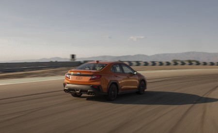 2022 Subaru WRX Rear Three-Quarter Wallpapers 450x275 (3)