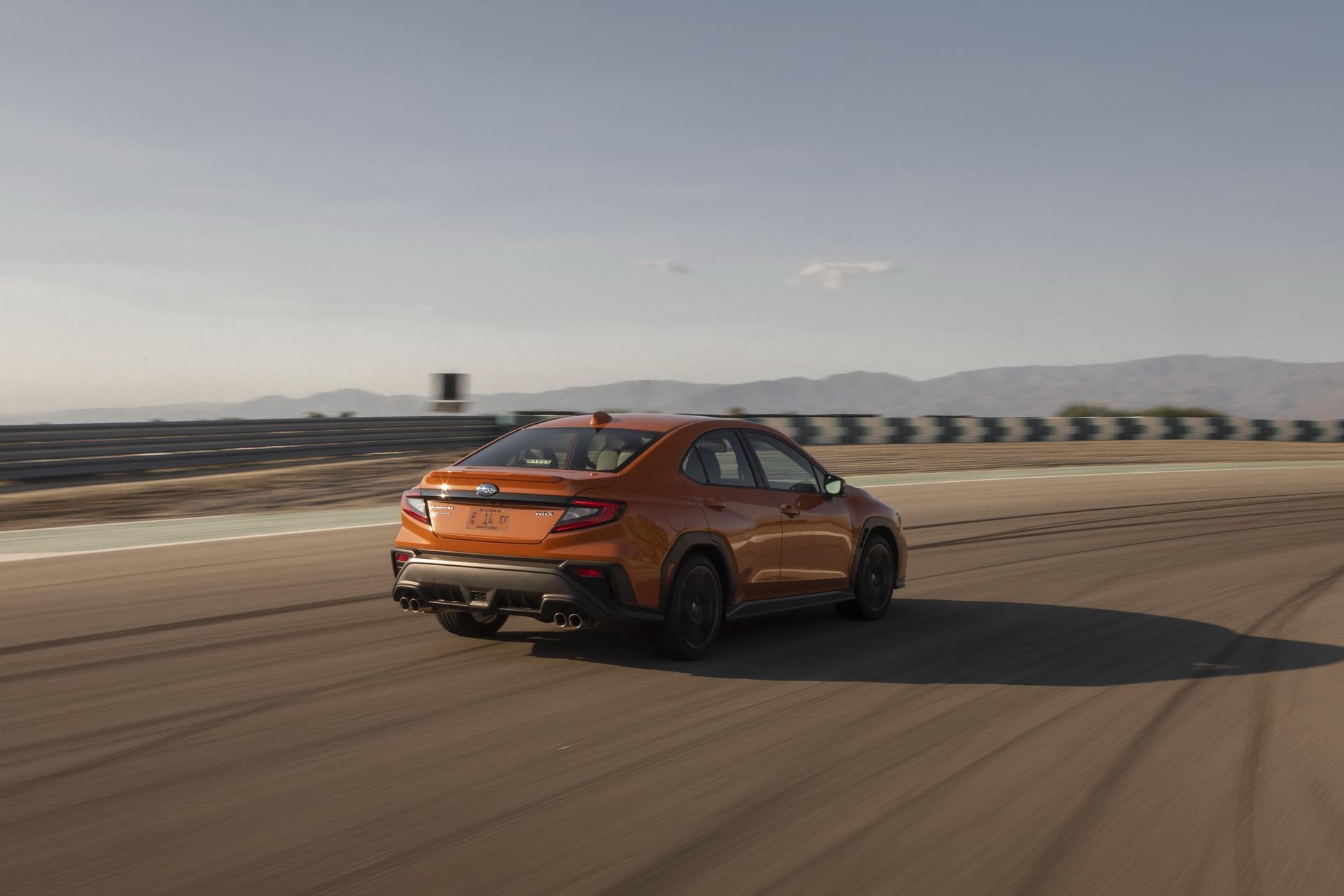 2022 Subaru WRX Rear Three-Quarter Wallpapers (3)