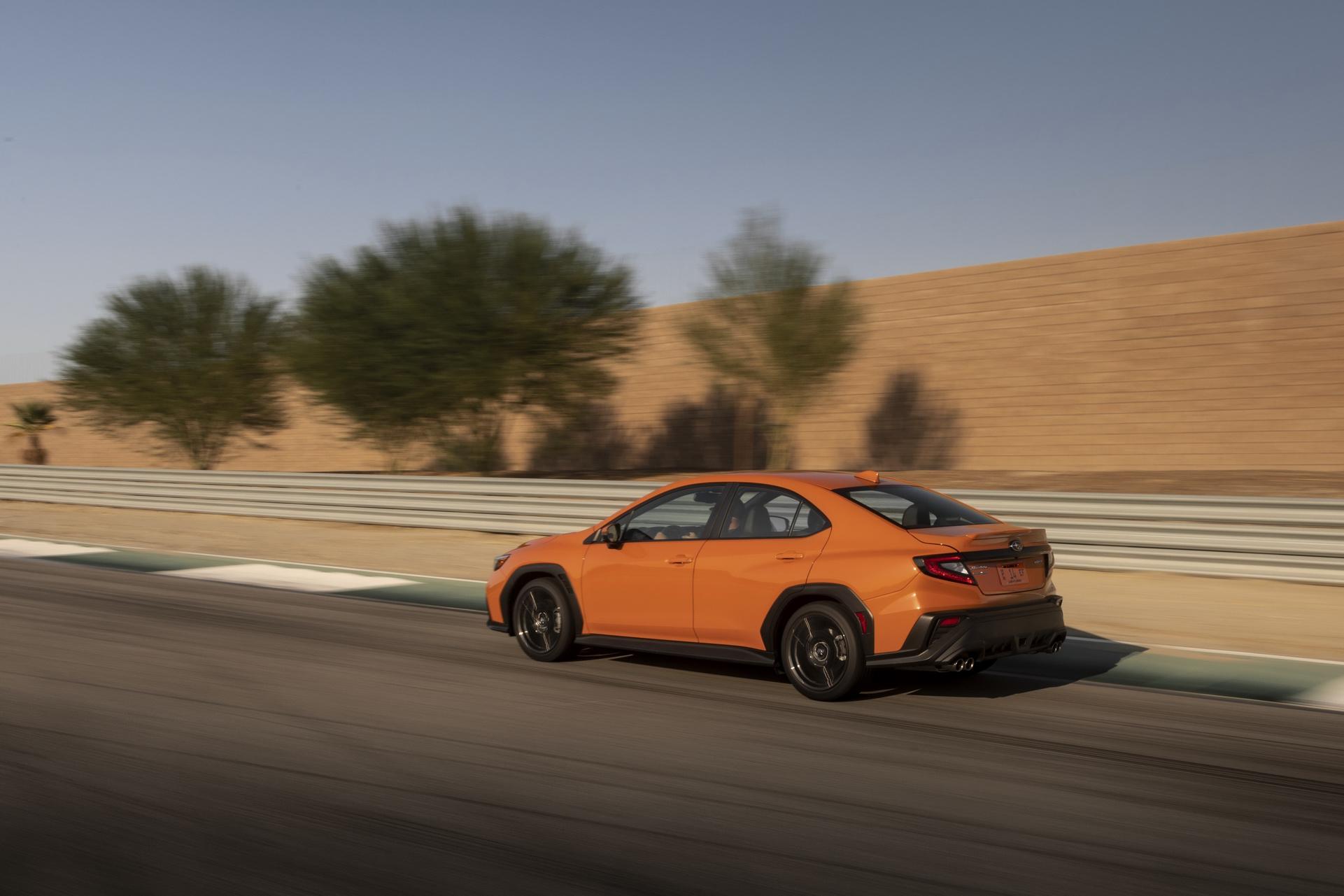 2022 Subaru WRX Rear Three-Quarter Wallpapers (4)