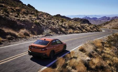 2022 Subaru WRX Rear Three-Quarter Wallpapers 450x275 (5)