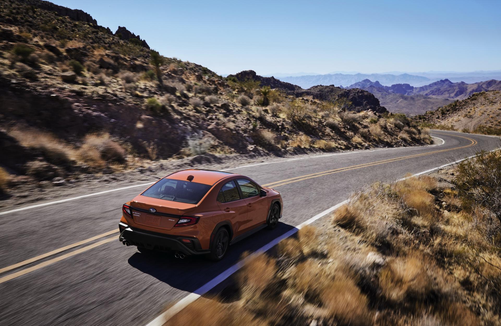 2022 Subaru WRX Rear Three-Quarter Wallpapers (5)